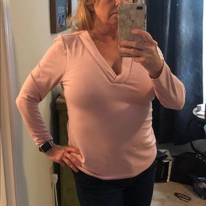 WHBM Pink Top